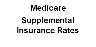 Medicare Supplemental Insurance rates in Pennsylvania Pa.